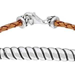 Carolyn Pollack American West Leather Bracelet Sm